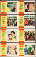 "Movie Posters:Elvis Presley, Loving You (Paramount, 1957). Lobby Card Set of 8 (11"" X 14"").. ...(Total: 8 Items)"