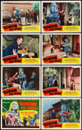 """Movie Posters:Science Fiction, Tobor the Great (Republic, 1954). Lobby Card Set of 8 (11"""" X 14"""")..... (Total: 8 Items)"""