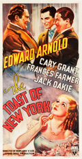 "Movie Posters:Drama, The Toast of New York (RKO, 1937). Three Sheet (41"" X 79"").. ..."