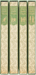Books:Literature 1900-up, [Limited Editions Club]. Lucille Corcos, illustrator. SIGNED. Jakoband Wilhelm Grimm. The Complete Household Tales. ... (Total:4 Items)