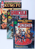 Magazines:Miscellaneous, Marvel Magazines Box Lot (Marvel, 1970s-'80s) Condition: AverageFN....