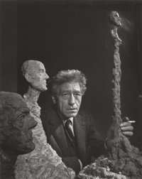 YOUSUF KARSH (Canadian, 1908-2002) Giacometti, 1965 Gelatin silver 13-5/8 x 10-5/8 inches (34.6 x