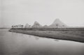 Photographs, W. PHILLIPS (20th Century). Lijiang River, 1986. Gelatin silver. 7-1/2 x 11-3/8 inches (19.1 x 28.9 cm). Signed in penci...