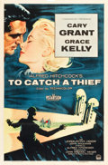 "Movie Posters:Hitchcock, To Catch a Thief (Paramount, 1955). One Sheet (27"" X 41"").. ..."