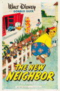 "Movie Posters:Animation, The New Neighbor (RKO, 1953). One Sheet (27"" X 41"").. ..."