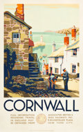 """Movie Posters:Miscellaneous, Cornwall, England Travel Poster (GWR, c.1930s). Poster (25"""" X40"""").. ..."""