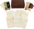 Autographs:Military Figures, [Battle of Gettysburg]. Union Sergeant Major Hoadly George HosfordCivil War Archive,...