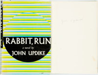 John Updike. SIGNED. Rabbit, Run. New York: Knopf, 1960. First edition. Signed by the author