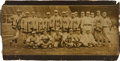 Baseball Collectibles:Photos, 1909 New York Giants Panoramic Team Photograph....