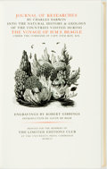 Books:Natural History Books & Prints, [Featured Lot]. [Limited Editions Club]. Robert Gibbings, illustrator. SIGNED. [Charles Darwin]. Journal of Researches.....