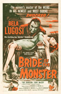 "Movie Posters:Horror, Bride of the Monster (Filmmakers Releasing, 1956). One Sheet (27"" X41"").. ..."
