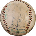 Autographs:Baseballs, 1927 St. Louis Cardinals Team Signed Baseball....