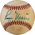 Autographs:Baseballs, Circa 1980 Roger Maris Single Signed Baseball....