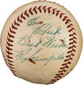 Autographs:Baseballs, 1950's Roy Campanella Single Signed Baseball....
