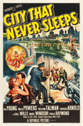"Movie Posters:Film Noir, City That Never Sleeps (Republic, 1953). One Sheet (27"" X 41"")....."