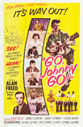 """Movie Posters:Rock and Roll, Go, Johnny, Go! (Hal Roach, 1959). One Sheet (27"""" X 41"""").. ..."""