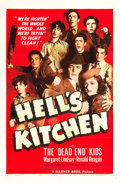 "Movie Posters:Crime, Hell's Kitchen (Warner Brothers, 1939). One Sheet (27"" X 41"").. ..."