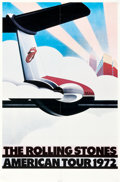 "Movie Posters:Rock and Roll, The Rolling Stones American Tour 1972 (Sunday Promotions, 1972).One Sheet (27"" X 41"").. ..."