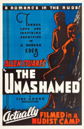 "Movie Posters:Exploitation, The Unashamed (Cine-Grand Films, Inc., 1938). One Sheet (27"" X41.5"").. ..."