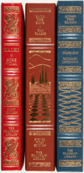 Books:Literature 1900-up, [Literature] [Michael Crichton, Gay Talese, Gore Vidal]. Group ofThree First Editions, Two of Which are SIGNED. Franklin Ce...(Total: 3 Items)