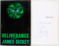 Books:Literature 1900-up, [Featured Lot] James Dickey. INSCRIBED. Deliverance. Boston:Houghton Mifflin, 1970. First edition. Inscribed by t...
