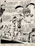 Original Comic Art:Splash Pages, Don Heck and Frank Chiaramonte The Flash #285 Splash Page 1Original Art (DC, 1980)....