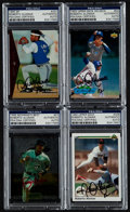 Baseball Cards:Autographs, Roberto Alomar Signed Cards Lot of 4....