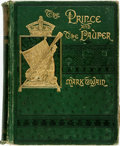 Books:Literature Pre-1900, Mark Twain. The Prince and the Pauper. A Tale for YoungPeople of All Ages. Boston: James R. Osgood, 1882. First...