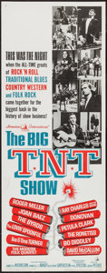 "Movie Posters:Rock and Roll, The Big T.N.T. Show (American International, 1966). Insert (14"" X36""). Rock and Roll.. ..."