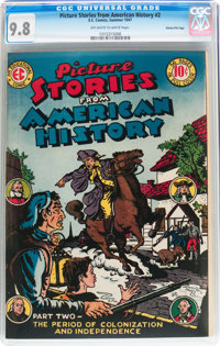 Picture Stories From American History #2 Gaines File pedigree 8/11 (EC, 1946) CGC NM/MT 9.8 Off-white to white pages