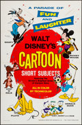 "Movie Posters:Animation, Walt Disney's Cartoon Short Subjects (Buena Vista, 1965). One Sheet (27"" X 41""). Animation.. ..."