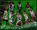 Basketball Collectibles:Photos, 1968-69 Boston Celtics Team Signed Photograph....
