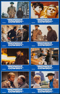 "Movie Posters:Academy Award Winners, Midnight Cowboy (United Artists, R-1981). International Uncut Lobby Card Set of 8 (28"" X 44""). Academy Award Winners.. ..."