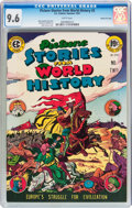 Golden Age (1938-1955):Non-Fiction, Picture Stories from World History #2 Gaines File pedigree 7/11(EC, 1947) CGC NM+ 9.6 White pages....