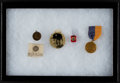 Baseball Collectibles:Others, 1930's Babe Ruth Golf Medal and Baseball Memorabilia Lot of 4....