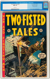 Two-Fisted Tales #33 Gaines File pedigree 8/12 (EC, 1953) CGC NM 9.4 White pages