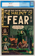 Golden Age (1938-1955):Horror, Haunt of Fear #5 Gaines File pedigree 4/9 (EC, 1951) CGC NM+ 9.6Off-white to white pages....