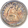 Proof Seated Quarters, 1859 25C PR65 PCGS. Briggs 2-B....