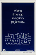 """Movie Posters:Science Fiction, Star Wars (20th Century Fox, 1977). One Sheet (27"""" X 41"""") Style BTeaser. Science Fiction.. ..."""
