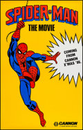 """Movie Posters:Action, Spider-Man (Cannon, 1985). One Sheet (29.5"""" X 46.5"""") Advance. Action.. ..."""