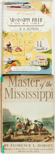 Books:Americana & American History, Pair of First Editions on Mississippi River History. VariousPublishers and dates. Publisher's cloth bindings and original d...(Total: 2 Items)