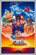 "Movie Posters:Animation, Aladdin (Buena Vista, 1992). One Sheets (2) (27"" X 40"" & 27"" X41"") SS & DS, Regular & Advance. Animation.. ... (Total: 2Items)"