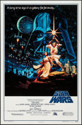 "Movie Posters:Science Fiction, Star Wars (Kilian, R-1992). One Sheet (27"" X 41"") SS Style B.Science Fiction.. ..."