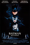 "Movie Posters:Action, Batman Returns (Warner Brothers, 1992). One Sheet (27"" X 40.25"") SSAdvance. Action.. ..."
