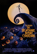 "Movie Posters:Animation, The Nightmare Before Christmas (Touchstone, 1993). One Sheet (27"" X40"") DS. Animation.. ..."