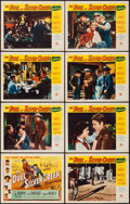 "Movie Posters:Western, The Duel at Silver Creek & Other Lot (Universal International, 1952). Lobby Card Sets of 8 (2) (11"" X 14""). Western.. ... (Total: 16 Items)"