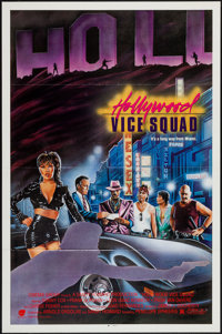 "Hollywood Vice Squad & Others Lot (Cinema Group, 1986). One Sheets (8) (27"" X 41"") Flat Folded. Comedy..."