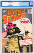 Silver Age (1956-1969):Horror, House of Secrets #1 (DC, 1956) CGC FN 6.0 Off-white pages....