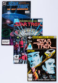 Modern Age (1980-Present):Science Fiction, Star Trek-Related Group (DC/Marvel, 1980s-'90s) Condition:VF/NM.... (Total: 89 Comic Books)