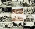Miscellaneous:Postcards, [Postcards]. Group of Twenty-four Postcards Depicting Scenes ofWWI. Various publisher's and dates. Most measuring approxima...